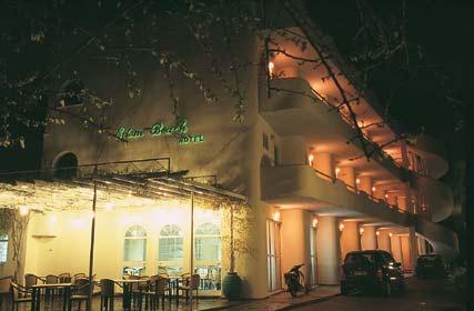 EDEN BEACH HOTEL  HOTELS IN  Rodia, Rodia Beach / Egio ACHAIA PELOPONESE