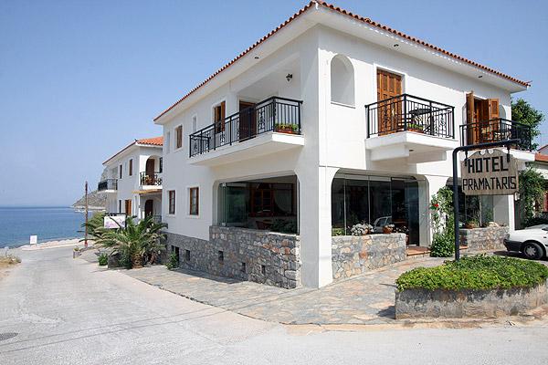 PRAMATARIS HOTEL  HOTELS IN  Monemvassia LACONIA PELOPONNESE