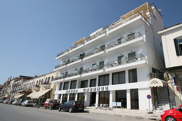 PANTHEON HOTEL  HOTELS IN  Gythio Laconia Peloponnese